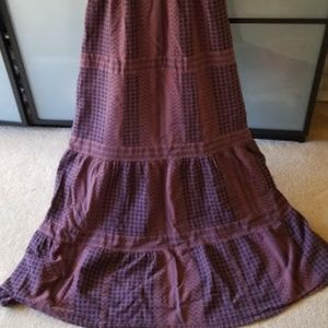 Fossil Dresses - Fossil maxi dress, size S, cotton